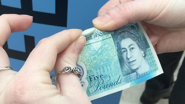 Finally, Britain copies Nigeria, produces water-proof £5 note