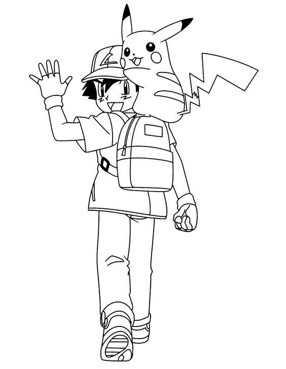 Tranh tô màu Pokemon 6