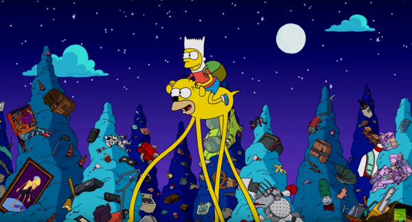 Os Simpsons Hora de Aventura