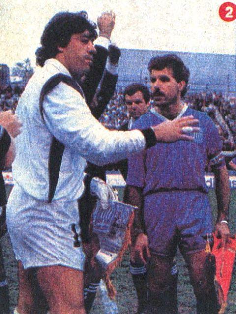 Chile y Canadá en Sir Stanley Matthews Cup, 23 de mayo de 1988