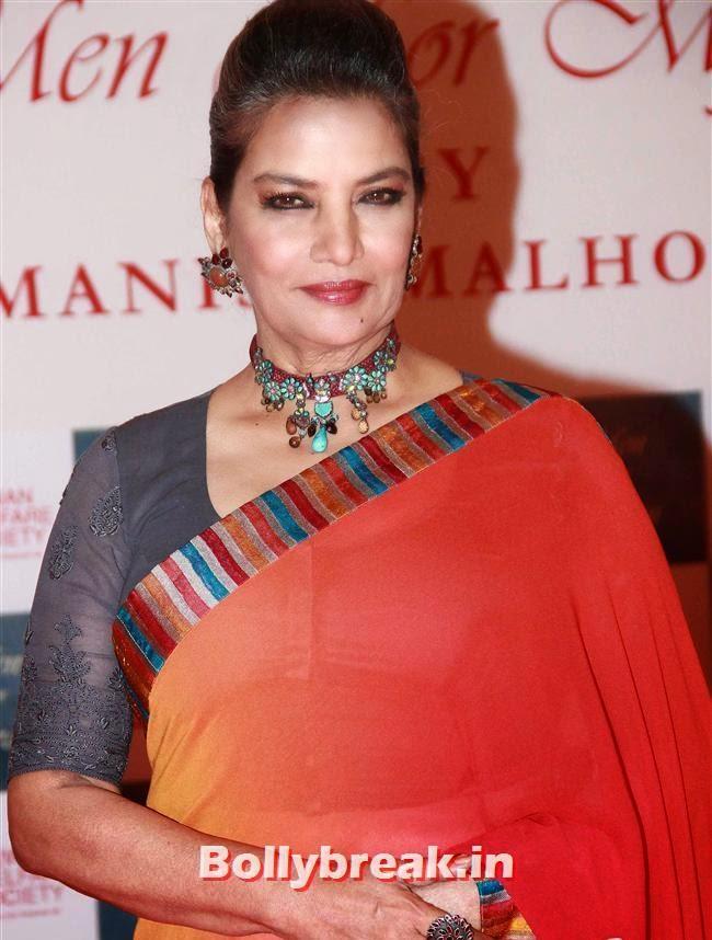 Shabana Azmi, Top Bollywood Celebs at Men For Mijwan Charity Fashion Show