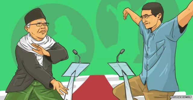 Debat Antar-Cawapres: Sandi Jangan Lupa, Kyai Ma'ruf Amin adalah Politisi