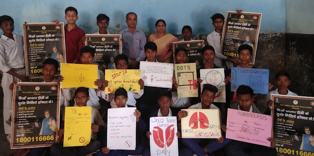 Aware of Tuberculosis TB on World TB Day in Faridabad