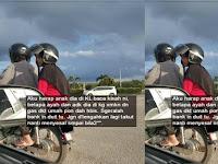 Dikerjai Anaknya Dua Hari Bolak-balik Ke Mesin ATM, Kisah Ayah Miskin ini Bikin Haru Netizen