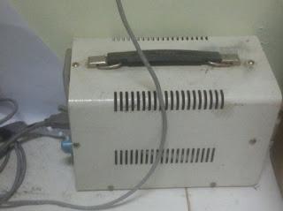 Cara ubah voltase 220 volt ke 110 volt mesin fotocopy canon IR