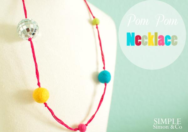 452a3bb97a5 Pom Pom Necklace - Simple Simon and Company