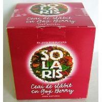 poza cutia ceai de slabire Goji berry Solaris