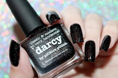 "Swatch of the nail polish ""Darcy"" from Picture Polish"