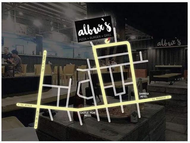 Visit Alburs New Pizza And Burger Destination In Cebu