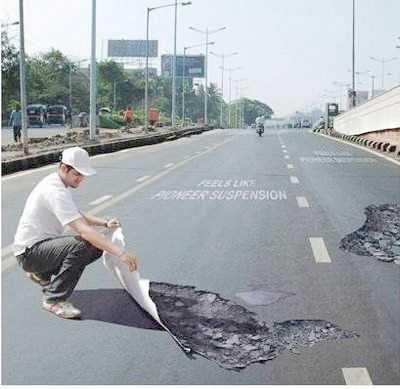pothole?