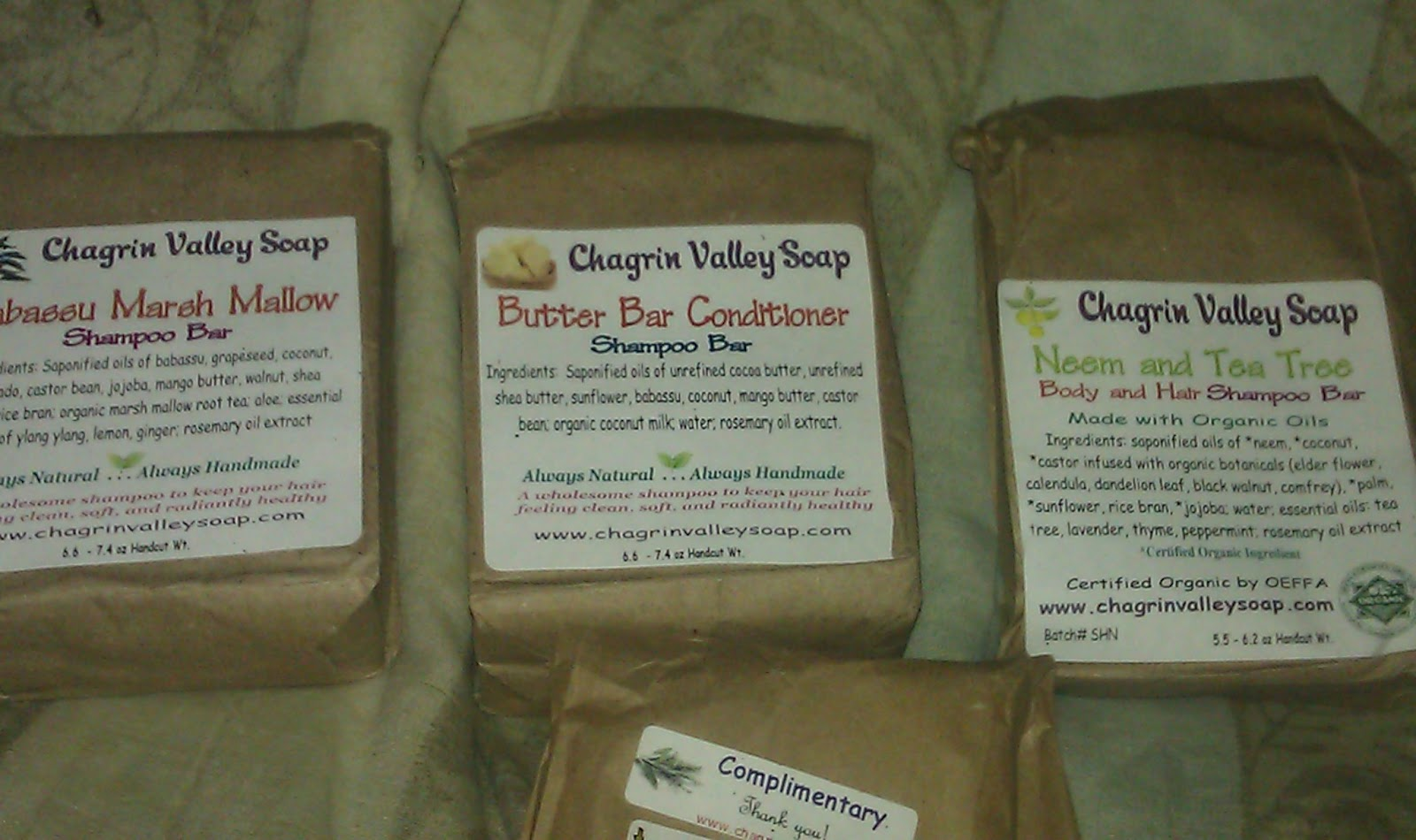 RavenCurly: Chagrin Valley Shampoo Bars