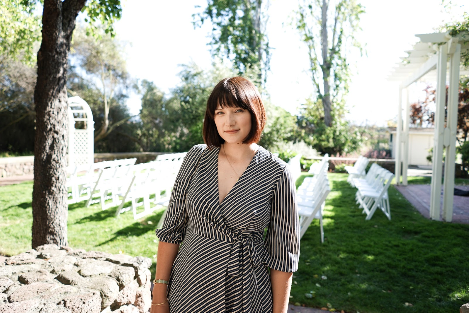 What I Wore To A Spring Wedding In California Sarah Satongar