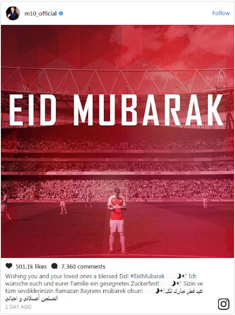 Tiga Bintang Premier League Unggah Momen pada Hari Raya Idul Fitri