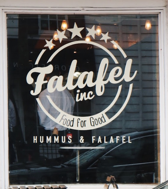 Falafel Inc in Georgetown Washington D.C.