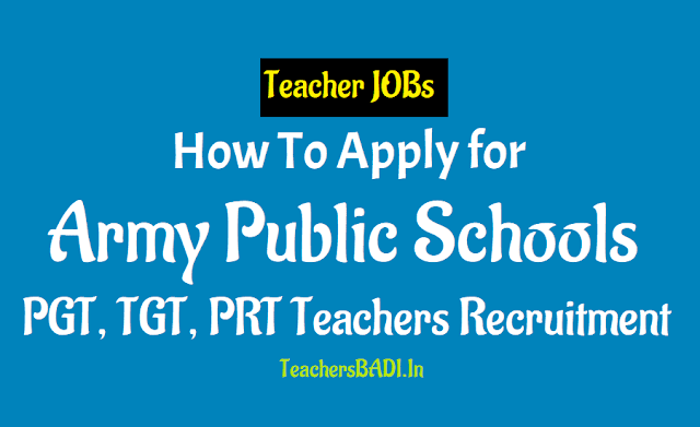 how to apply for army public schools pgts, tgts, prts teacher recruitment 2018,teacher selection entrance exam for for army public schools pgts, tgts, prts teacher recruitment 2018
