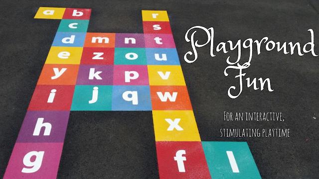 Playground marking designs