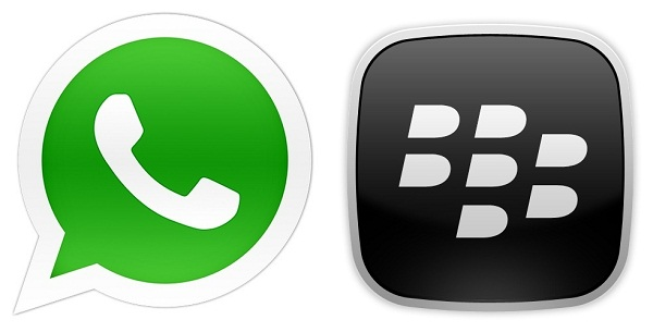 WhatsApp and BB