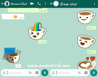 fitur terbaru sticker for whatsapp apk