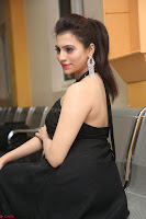 Priyanka in Sleeveless Black Slim Dress Spicy Pics ~  Exclusive 21.JPG