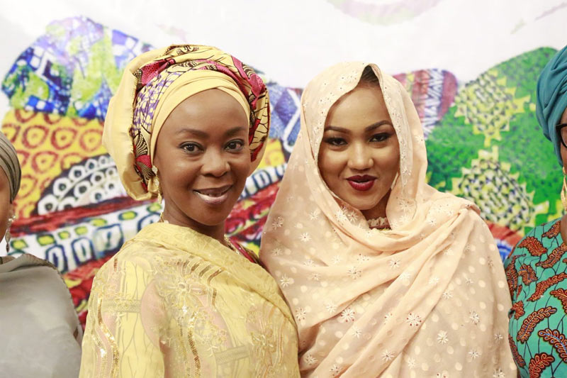 Gorgeous Zahra Buhari attends Rhythm FM's Hope Festival of Art & Culture