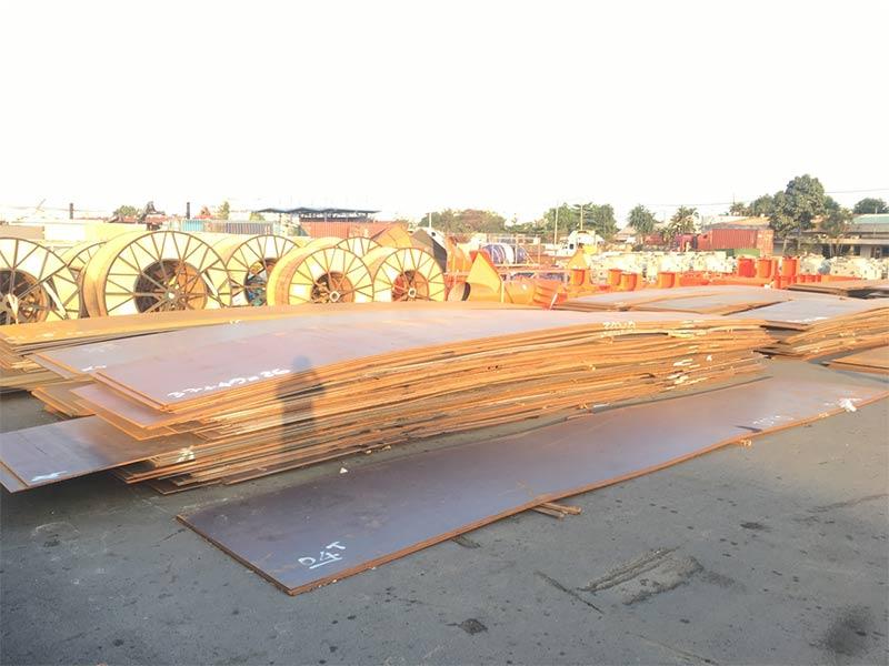 Lô thép tấm BV-AH36 cập cảng TPHCM