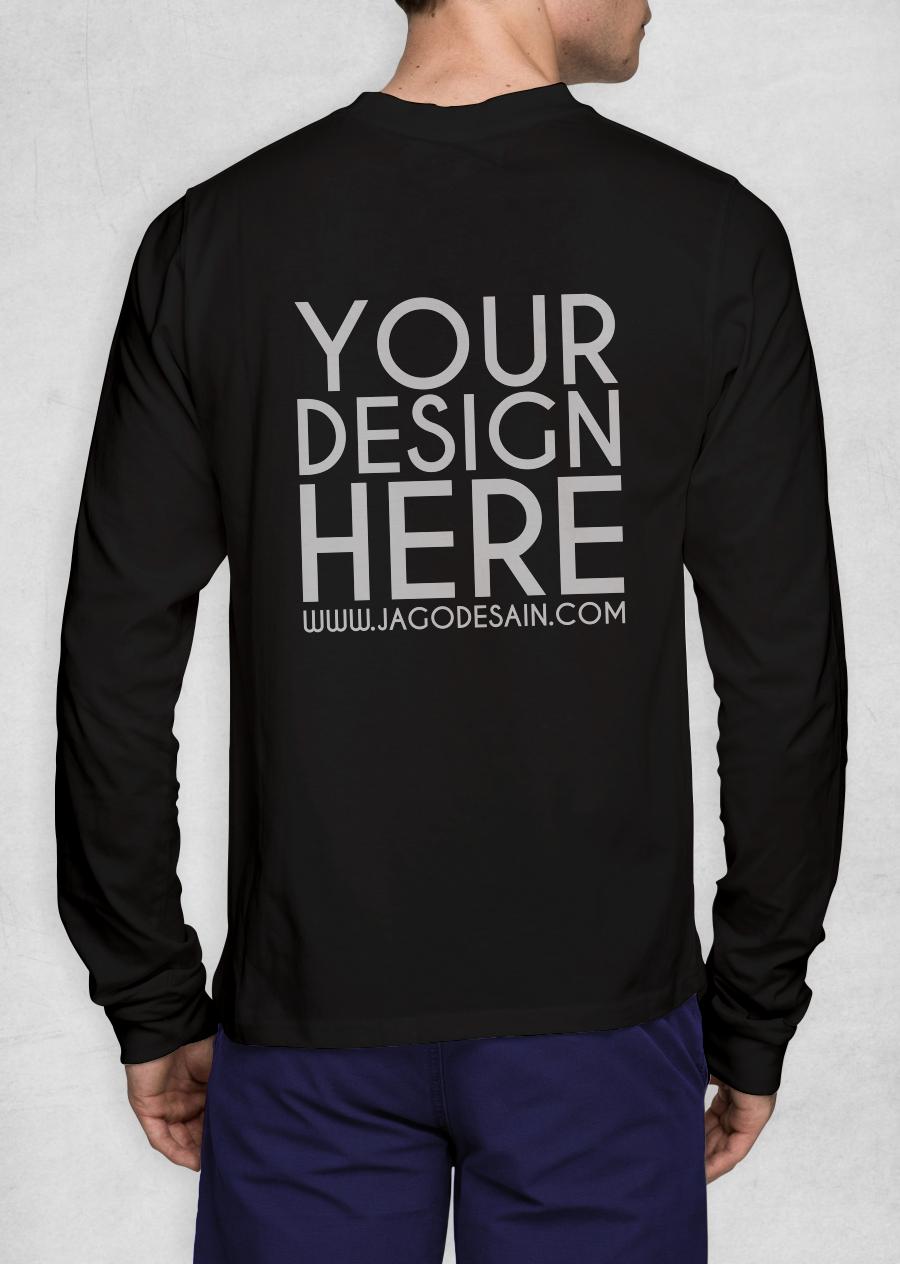 Download Desain Kaos Cdr : download, desain, 1329+, Mockup, Jersey, Lengan, Panjang, Mockups, Template, Design, Assets