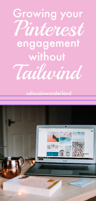 easy ways to grow your pinterest engagement in 10 minutes a day without tailwind! #pinteresttips #bloggertips #pinterest