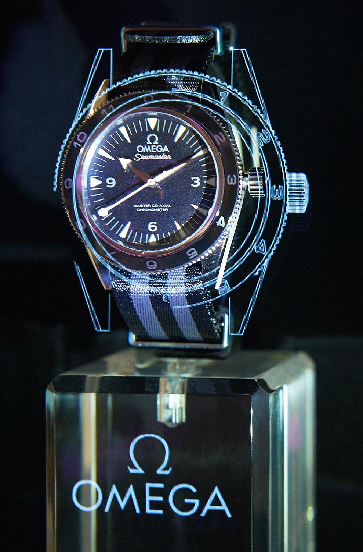 e95866a78f9 Relógios Omega e a sua ligação a James Bond em exposição no El Corte Inglés  de Lisboa