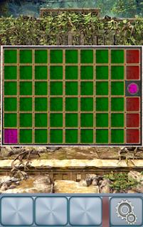 Панель с разноцветными ячейками.