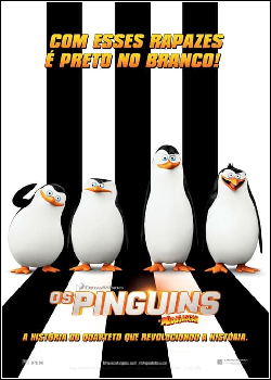 Os Pinguins de Madagascar Dublado