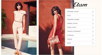 ropa barata para mujer de Etam oferta de junio 2017