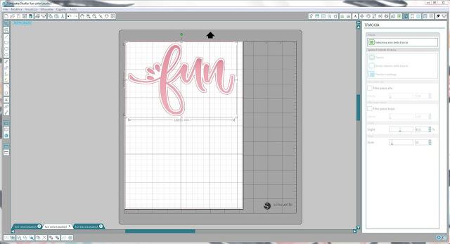 Come utilizzare singoli file .png nella modalità Print & Cut | Silhouette Cameo step12