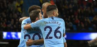 أهداف مباراة مانشستر سيتي 3 - 1 واتفورد  09-03-2019 الدوري الانجليزي