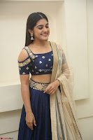 Niveda Thomas in Lovely Blue Cold Shoulder Ghagra Choli Transparent Chunni ~  Exclusive Celebrities Galleries 038.JPG