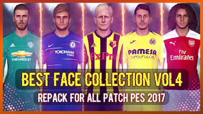 PES 2017 Best Facepack Collection vol 4 by Rean Tech