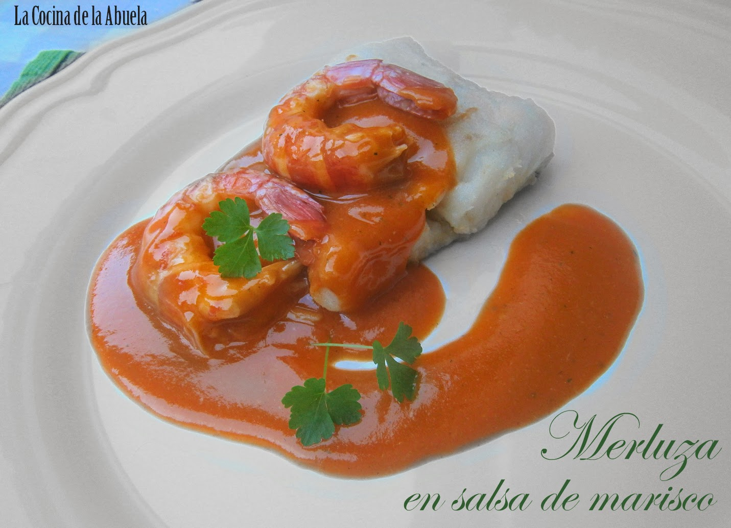 Merluza en Salsa de Marisco.