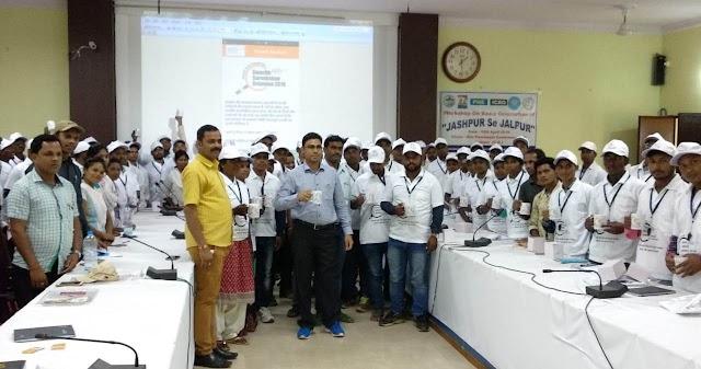 स्वच्छता से ही जीवन में उन्नति-कुलदीप शर्मा,स्वच्छता साथी कार्यशाला का हुआ आयोजन