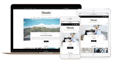 Monte Magazine / Blog WordPress Theme - WPZOOM Free Download
