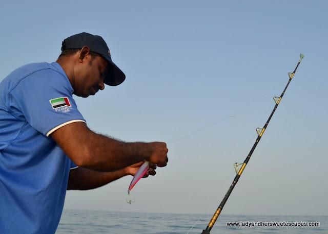 Fishing in Fujairah