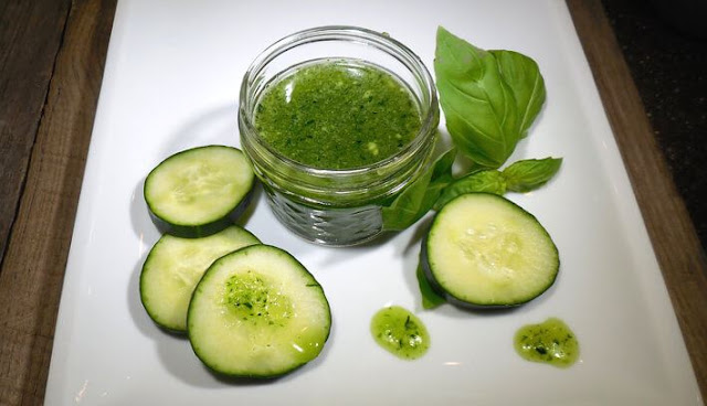 4 Reasons To Use Homemade Basil And Cucumber Body Scrub  Basil%2BAnd%2BCucumber