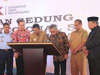Mantap,  Wakil Walikota Hadiri Peresmian Gedung Baru OJK