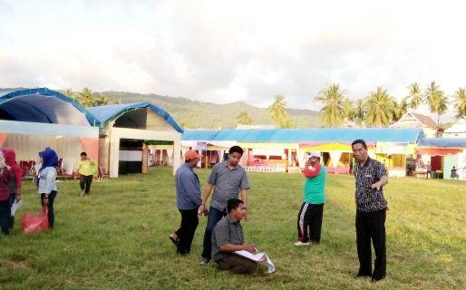 Final Cek Persiapan Pembukaan, Pameran Pendidikan Selayar 2017, Besok Di Bontosikuyu.