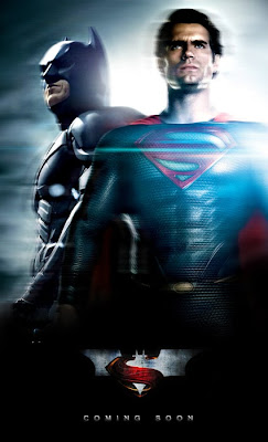 Batman si Superman in Man Of Steel 2