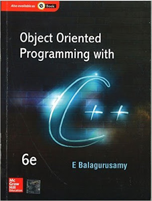 Download Free Object Oriented Programming with C++ by Balaguruswamy 6th Edition Book PDF