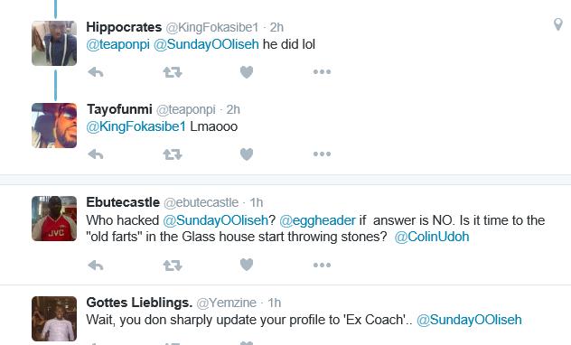 super eagles coach sunday oliseh resigns