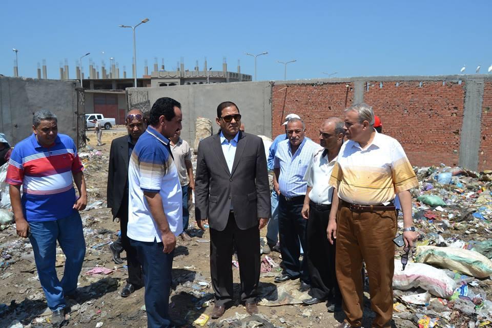 محافظ الغربية يصدر توجيهاته لرئيس حى أول وثانى طنطا ولرئيس مركزومدينة المحلة الكبرى