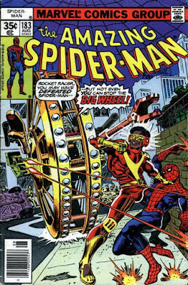 Amazing Spider-Man #183, the Rocket Racer and the Big Wheel