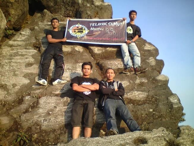 Telapak Sumut di Gunung Sibayak