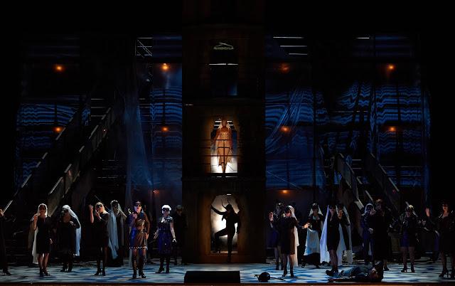 Verdi: Falstaff - Nadine Sierra & ensemble- Staatsoper Berlin (Photo: Matthias Baus)