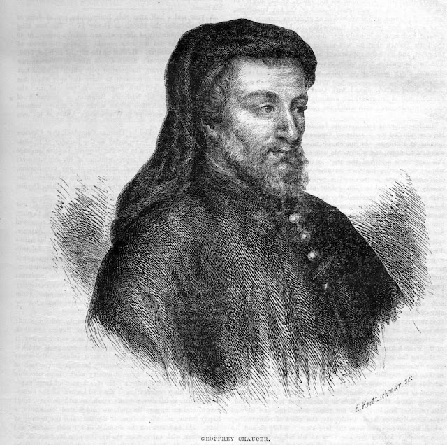biography of geoffrey chaucer Biography: geoffrey chaucer alison becker talks about the day jobs held by the father of english literature, geoffrey chaucer.